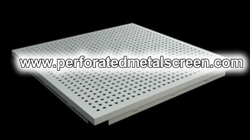 Perforated Aluminum Architectural Mesh Panels And Sound